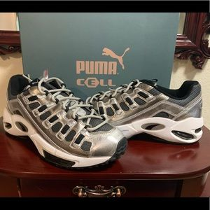 Puma Cell Endura Blends sz 10.5 silver/black